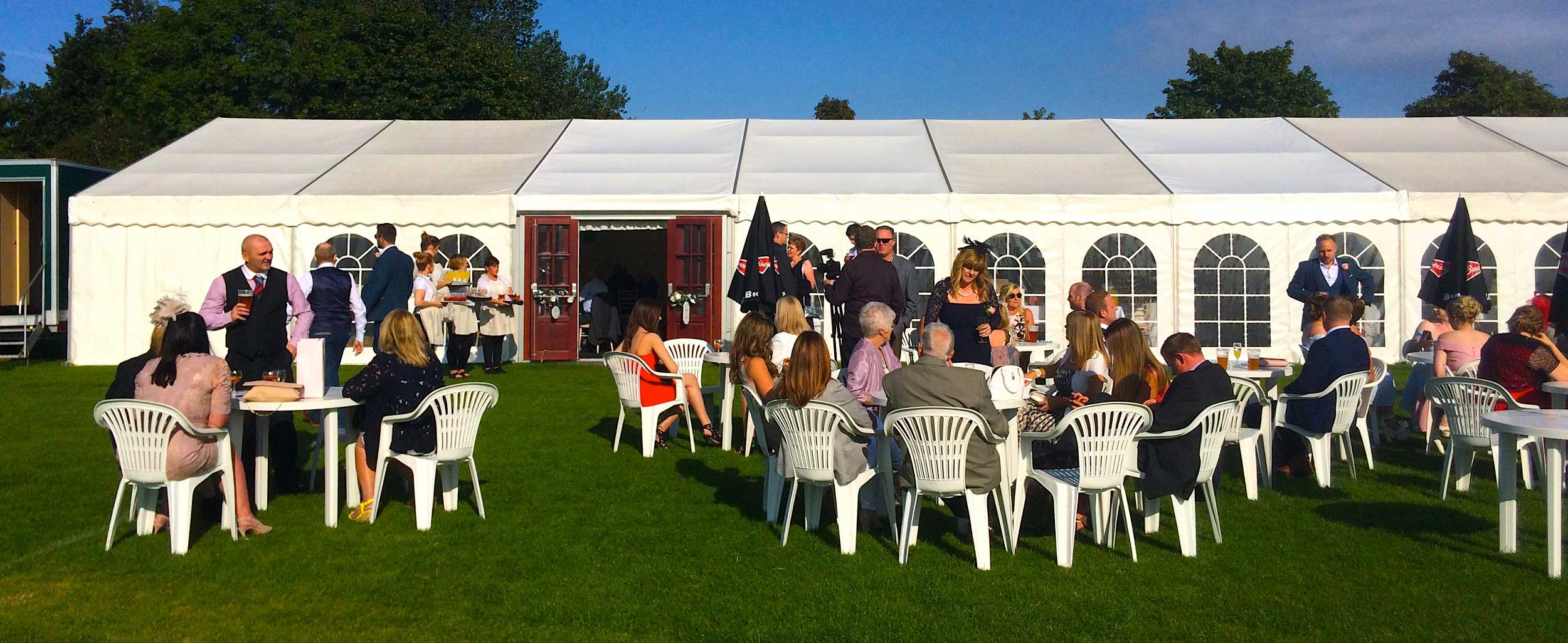 Informal Marquees Professional Marquee Hire In Yorkshire